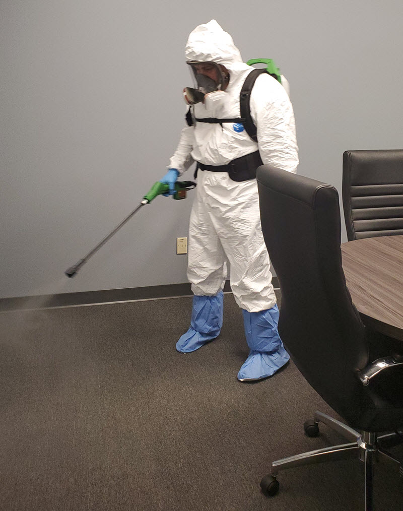 company cleaning covid-19